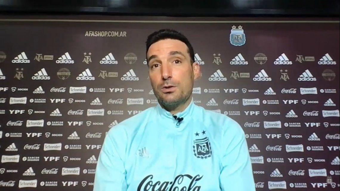 Lionel Scaloni habló en conferencia de prensa antes del partido ante Bolivia