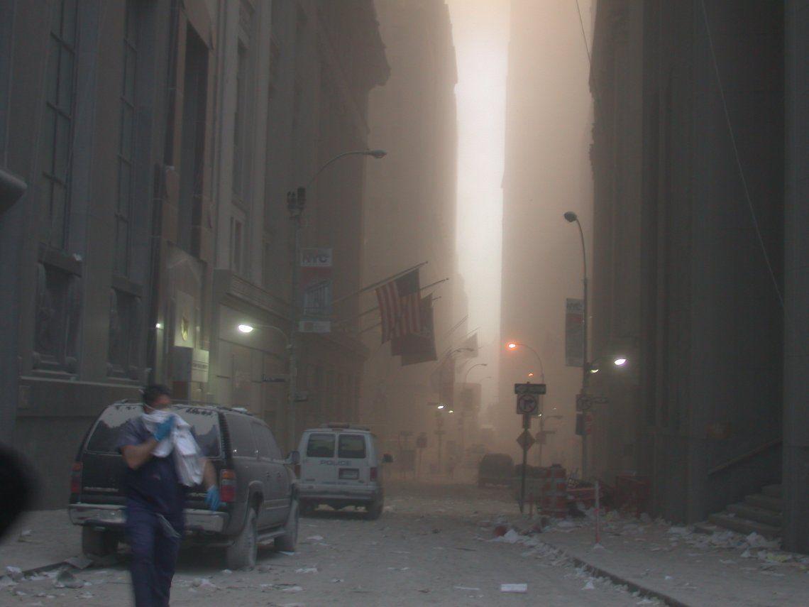Estados Unidos: el Servicio Secreto publicó fotos nunca vistas del 11-S