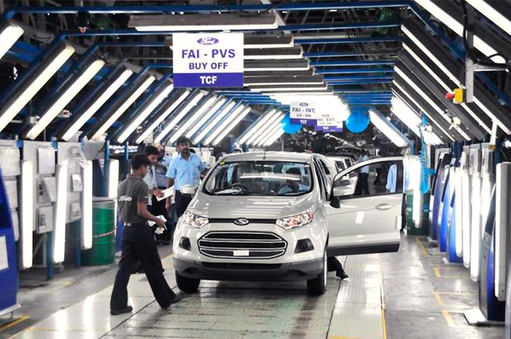 Ford anunció que cerrarás su plantas en India en busca de mejorar sus finanzas. Archivo.