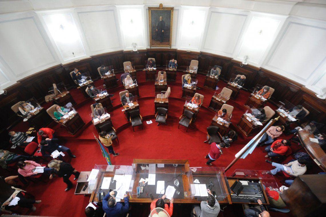 La normativa aprobada fue elaborada por el espacio del Frente de Todos y trabajada en forma conjunta con el aporte de todos los bloques.