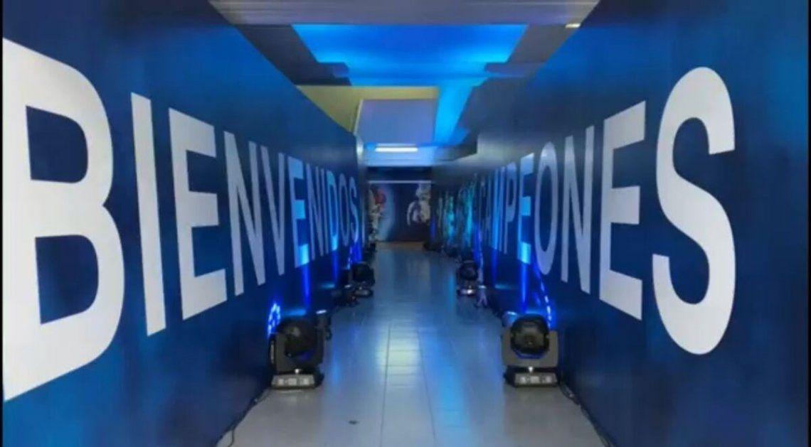El estadio Monumental listo para recibir a Argentina