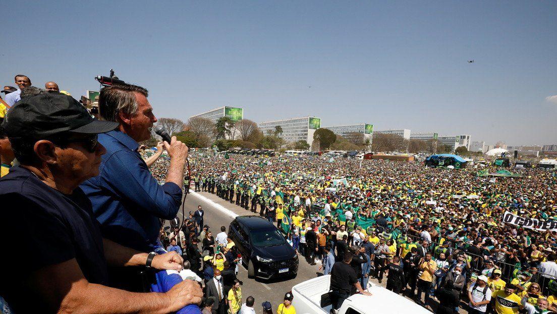 Bolsonaro cambió su discurso.