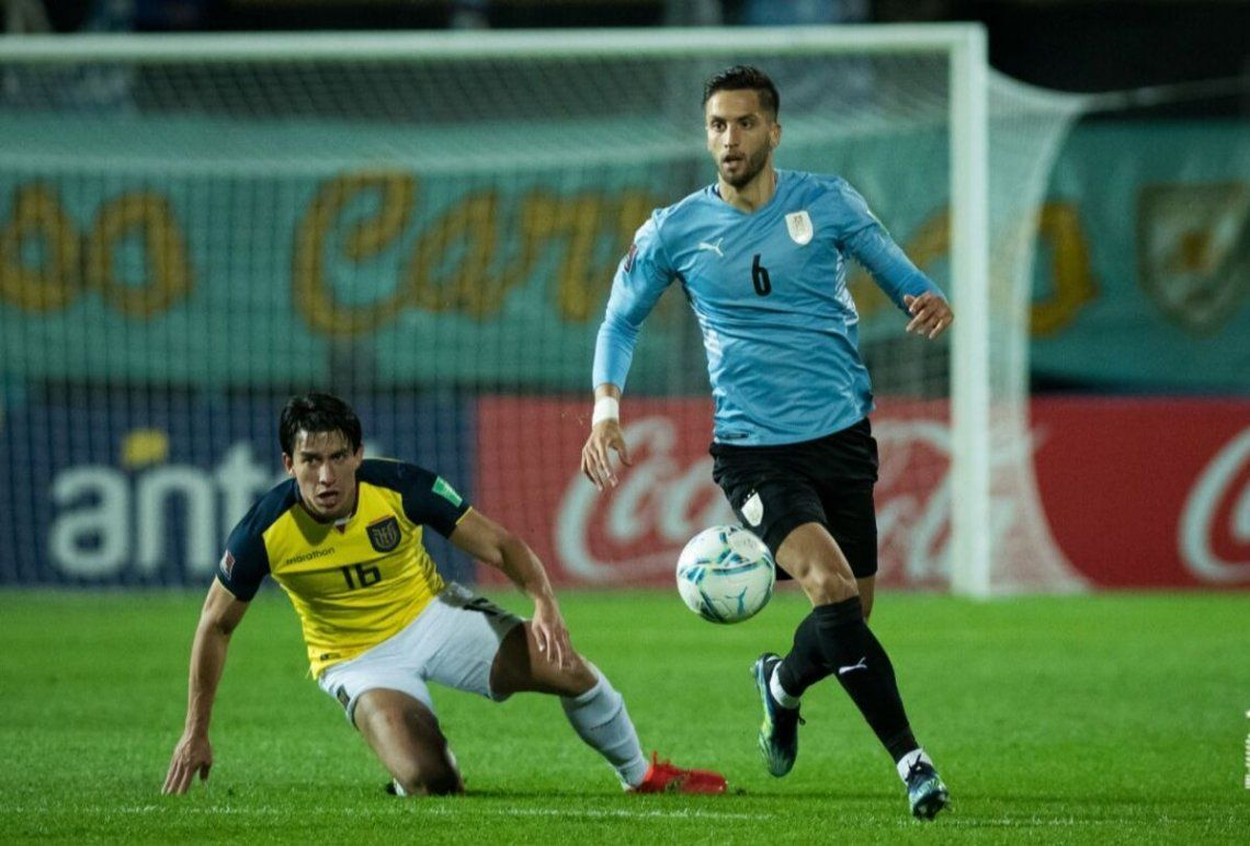Uruguay le ganó 1-0 a Ecuador.