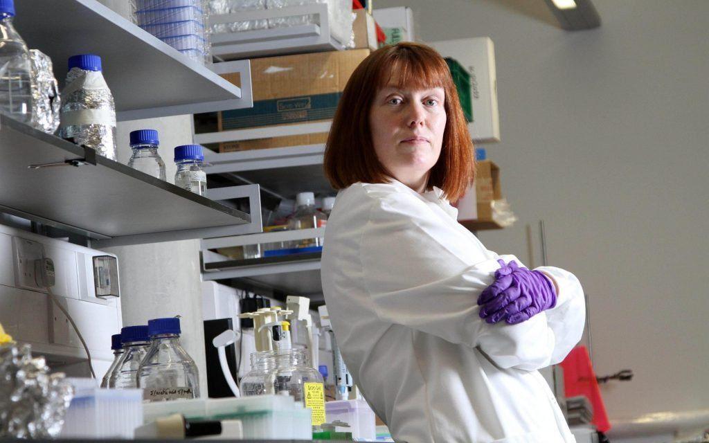 Sarah Gilbert es considerada la creadora de la vacuna de Oxford AstraZeneca. Archivo.