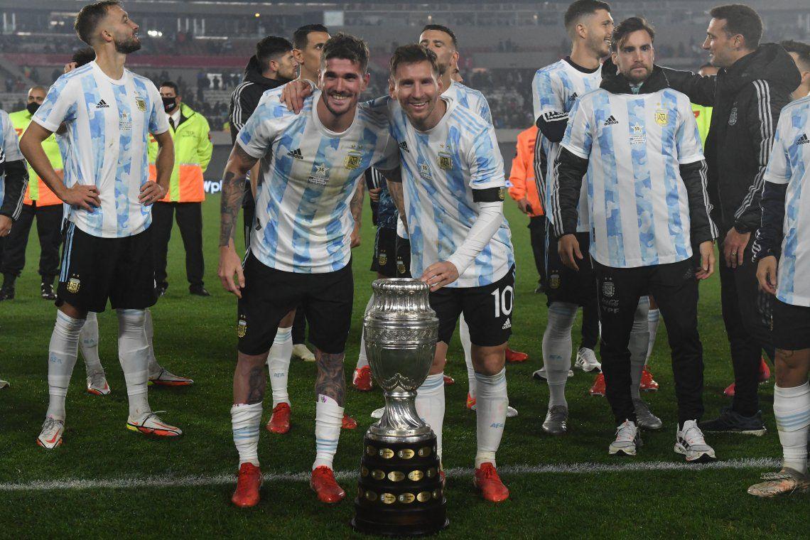 Selección Argentina: las mejores fotos de la fiesta del Campeón