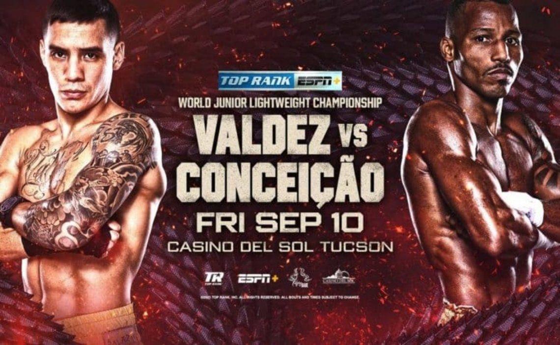 El CMB aprobó la pelea entre Oscar Valdez y el Robson Conceicao