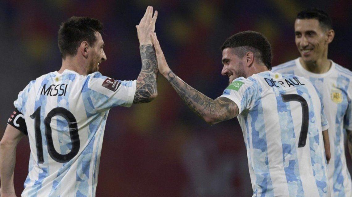 Rating: el partido de Argentina