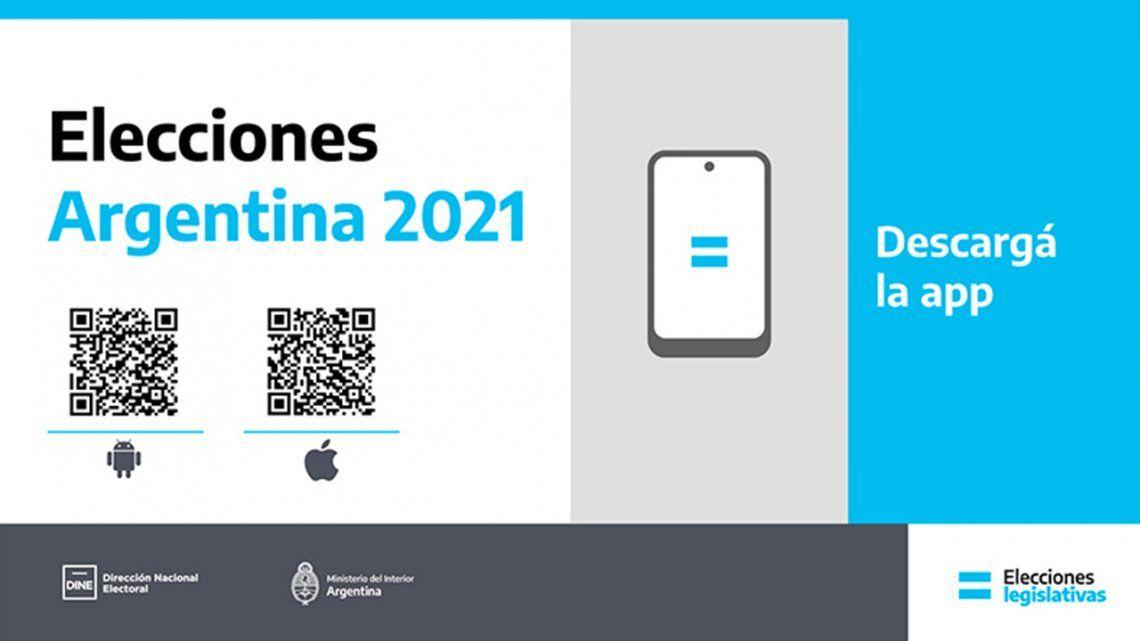 PASO: el Gobierno lanzó una App para seguir los resultados.