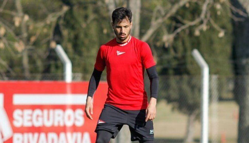 Juan Sánchez Miño se lesionó en un entrenamiento.