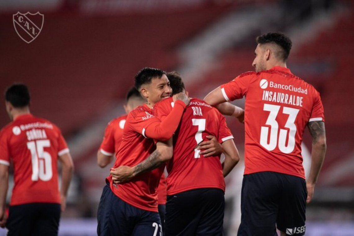 Falcioni ilusiona a Independiente con volver a la punta del torneo.