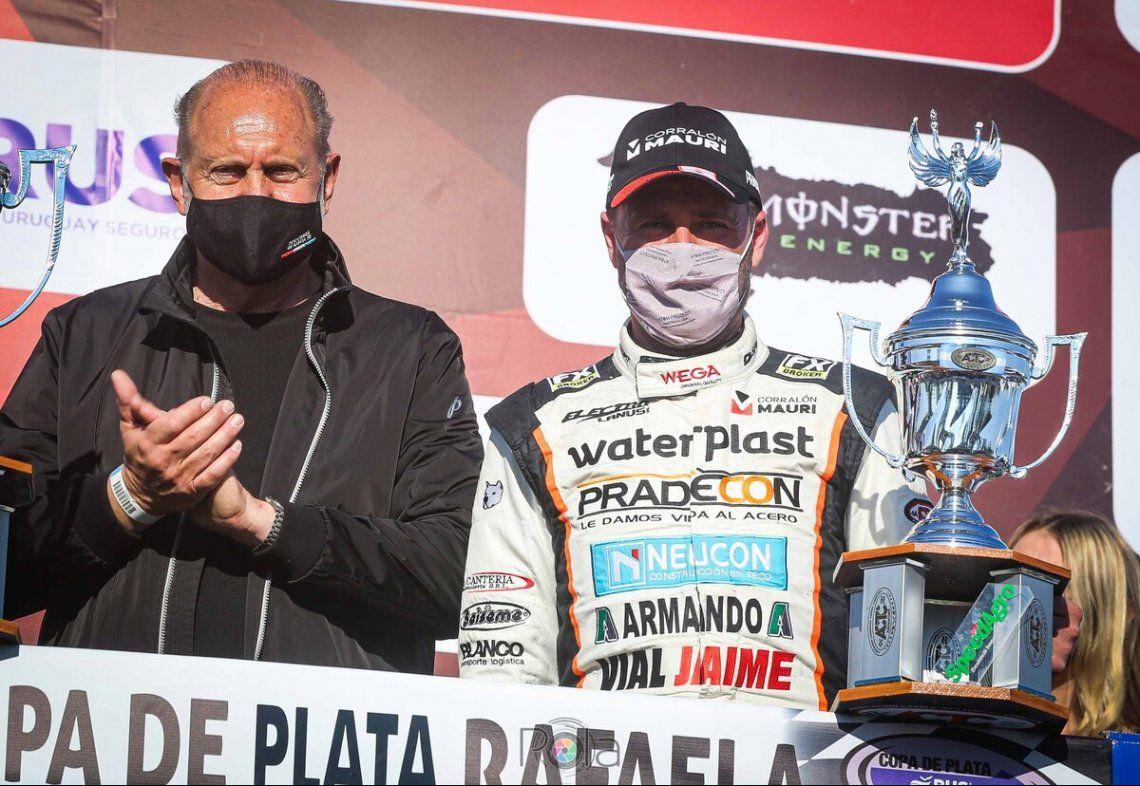 Chirstian Ledesma salió tercero en Rafaela pero luego la ACTC lo declaró ganador.
