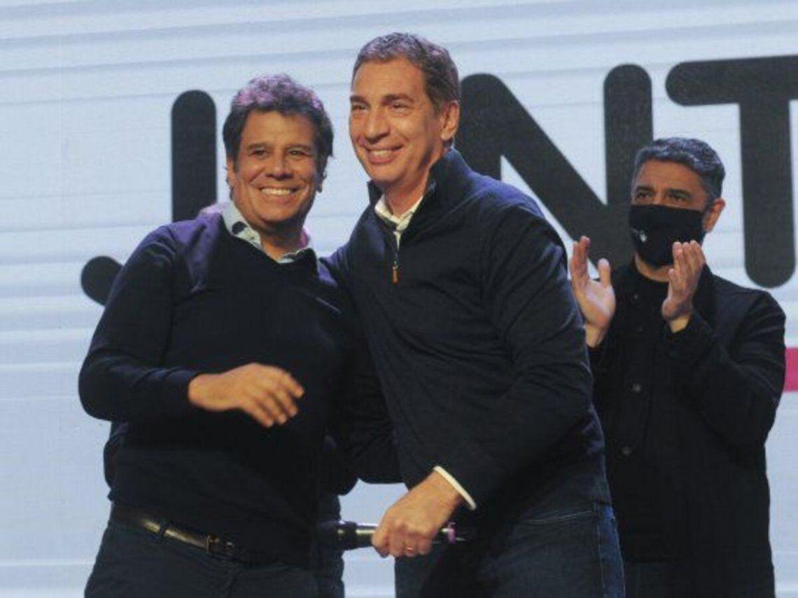 Diego Santilli y Facundo Manes.
