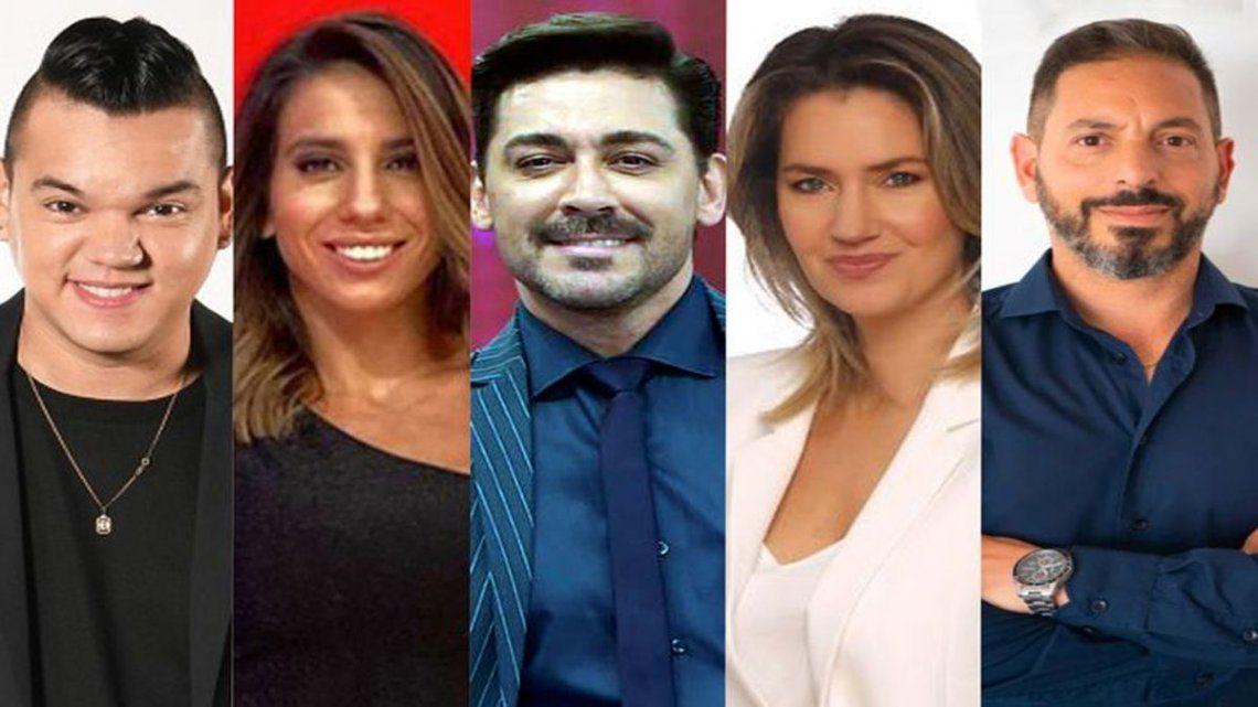 Varios famosos se presentaron en las PASO y Losada fue la gran ganadora.