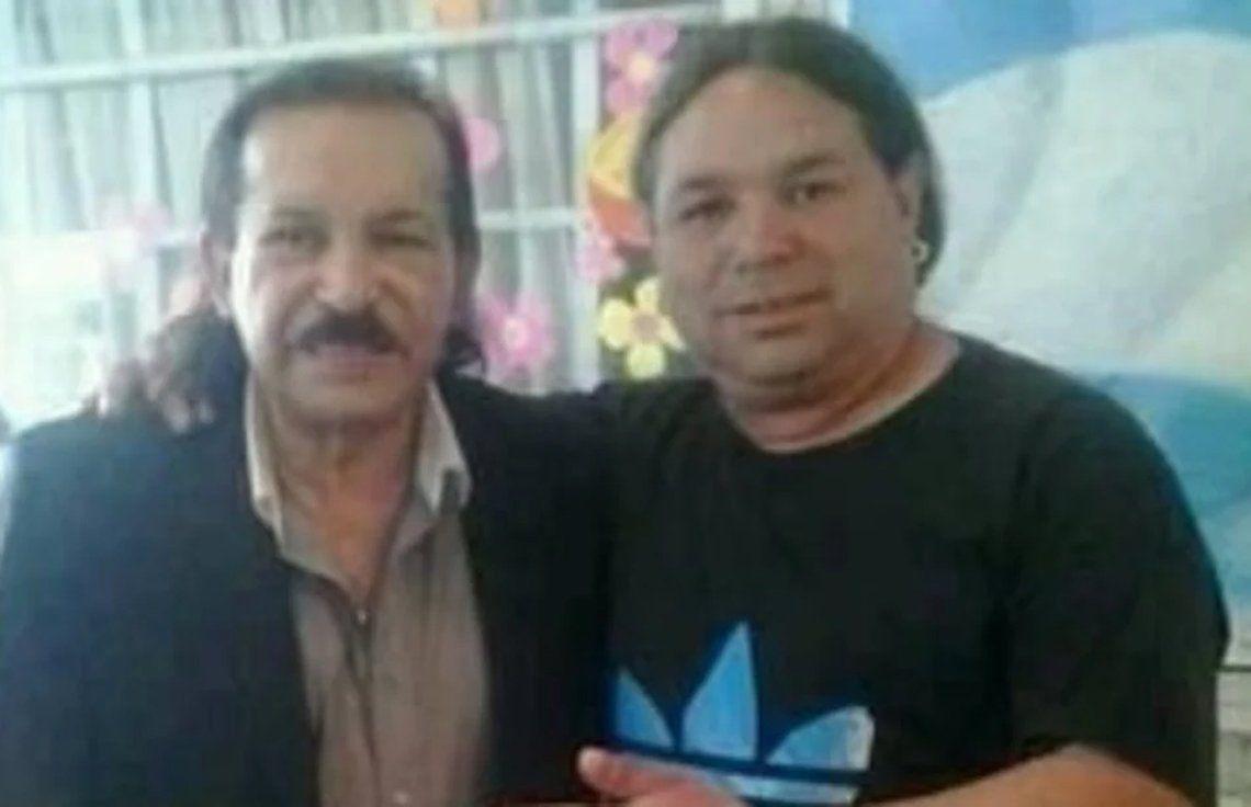 El músico junto al Maestro Antonio Ríos.