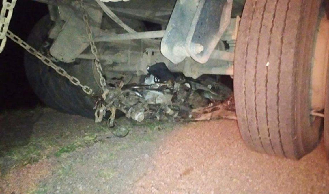 Los jóvenes murieron en un accidente en Santiago del Estero.