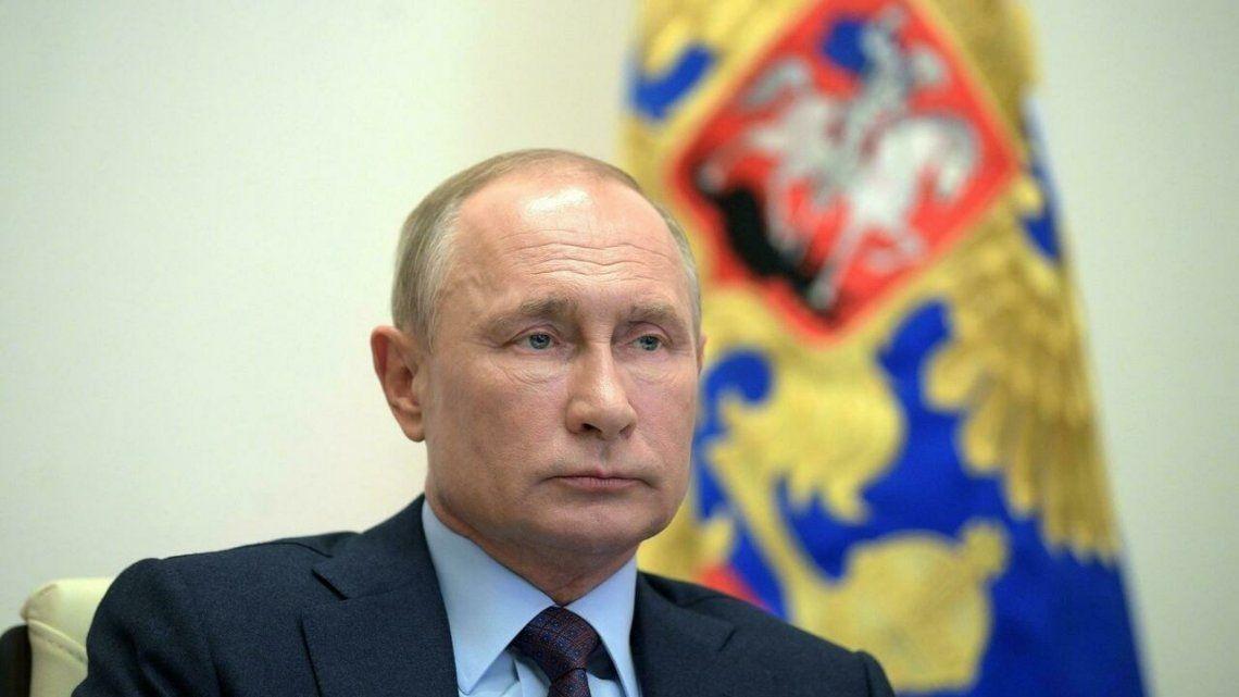 El mandatario ruso se vacunó con la vacuna Sputnik V en febrero pasado.
