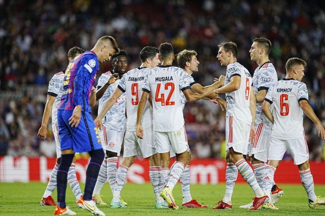 El triunfo del Bayern Múnich sobre el Barcelona.