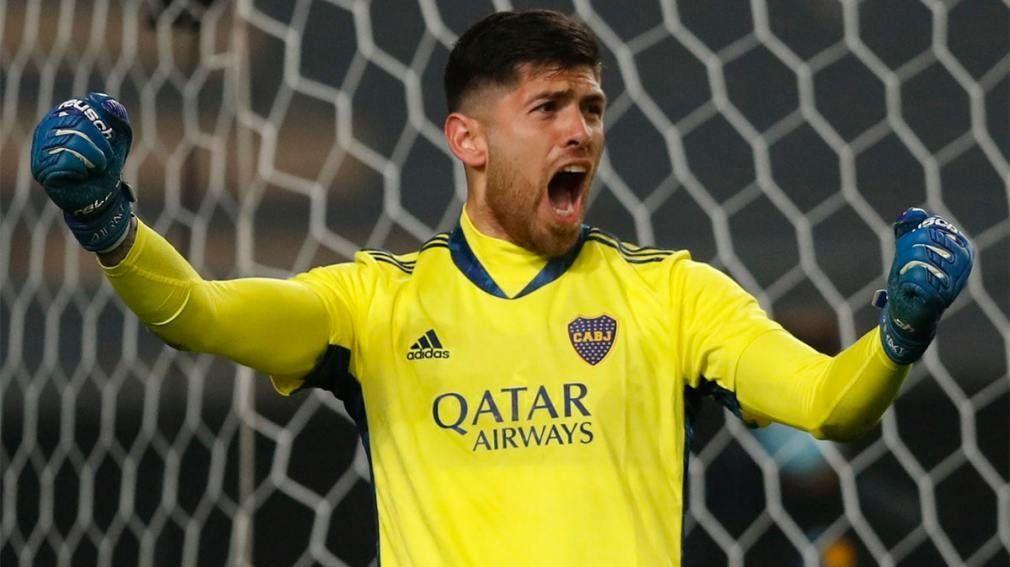 Agustín Rossi se consolida en el arco de Boca Juniors