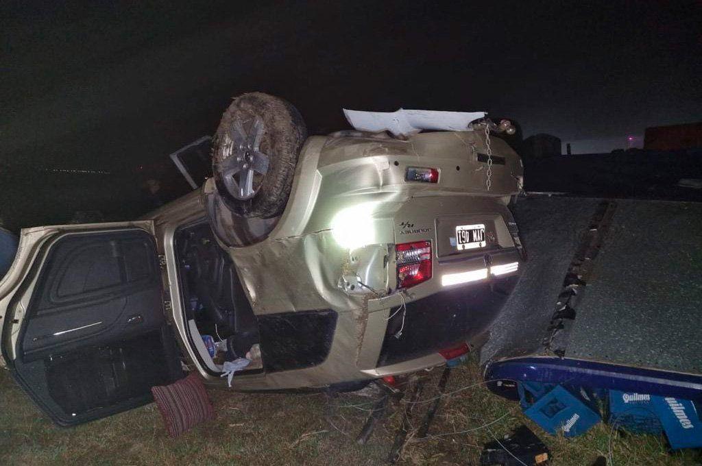 Choque en la Autovía 2: un bebé murió y seis personas resultaron heridas