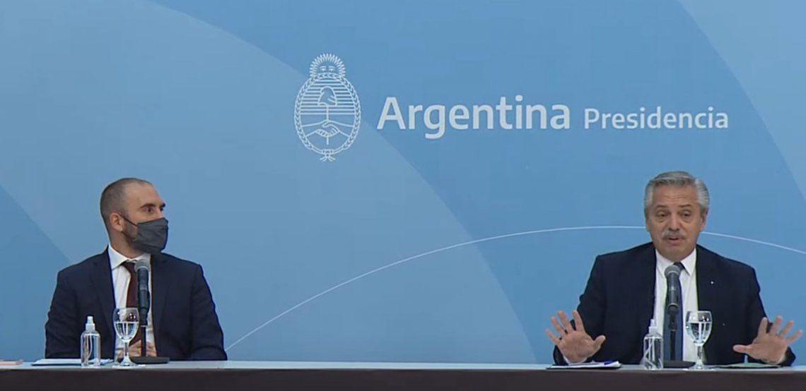 El presidente Alberto Fernández confirmó que este miércoles a la tarde el Gobierno presentará el proyecto de Presupuesto 2022.