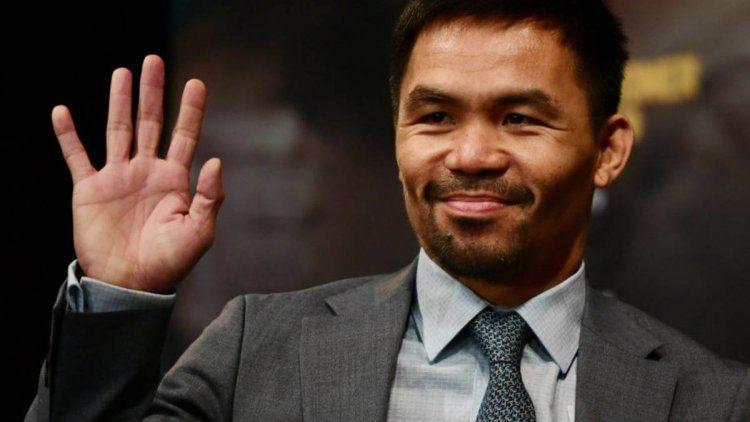 Manny Pacquiao es candidato a presidente en Filipinas