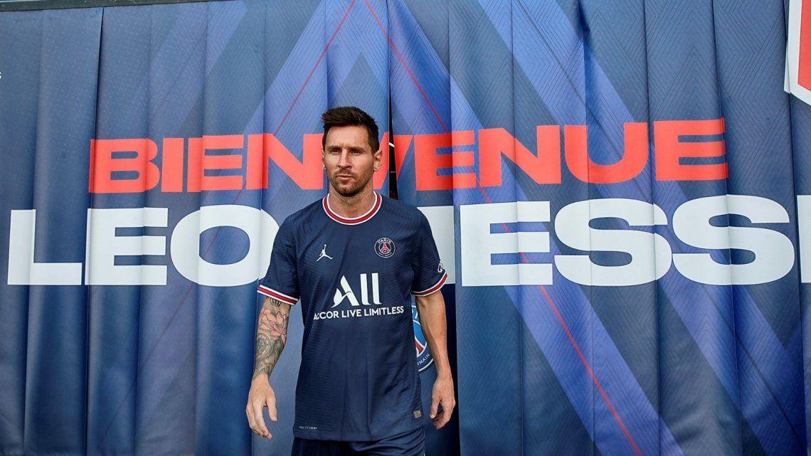 Video: Messi se entrenó por primera vez en el PSG