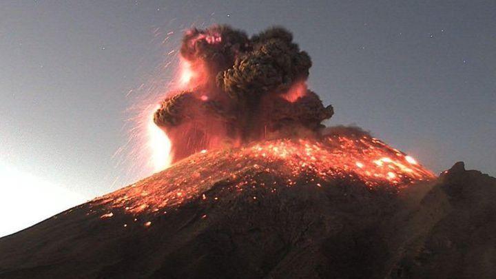 México: continúa en actividad el volcán Popocatépetl