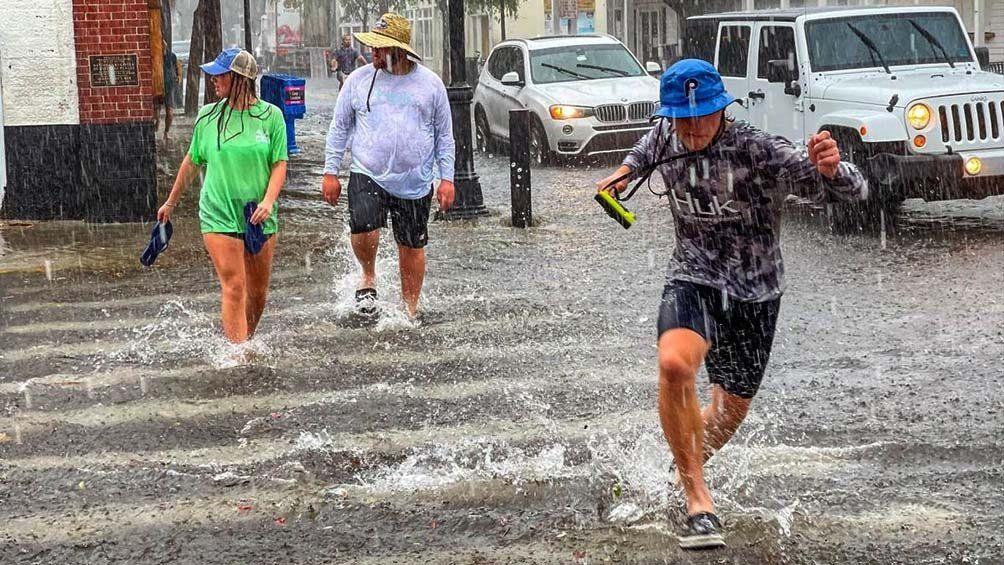 Nueva York: inundaciones tras el pasó del huracán Ida.