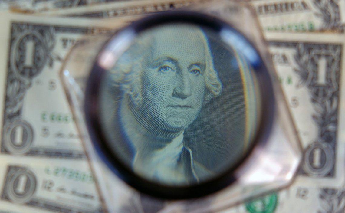 Subió el dólar blue.