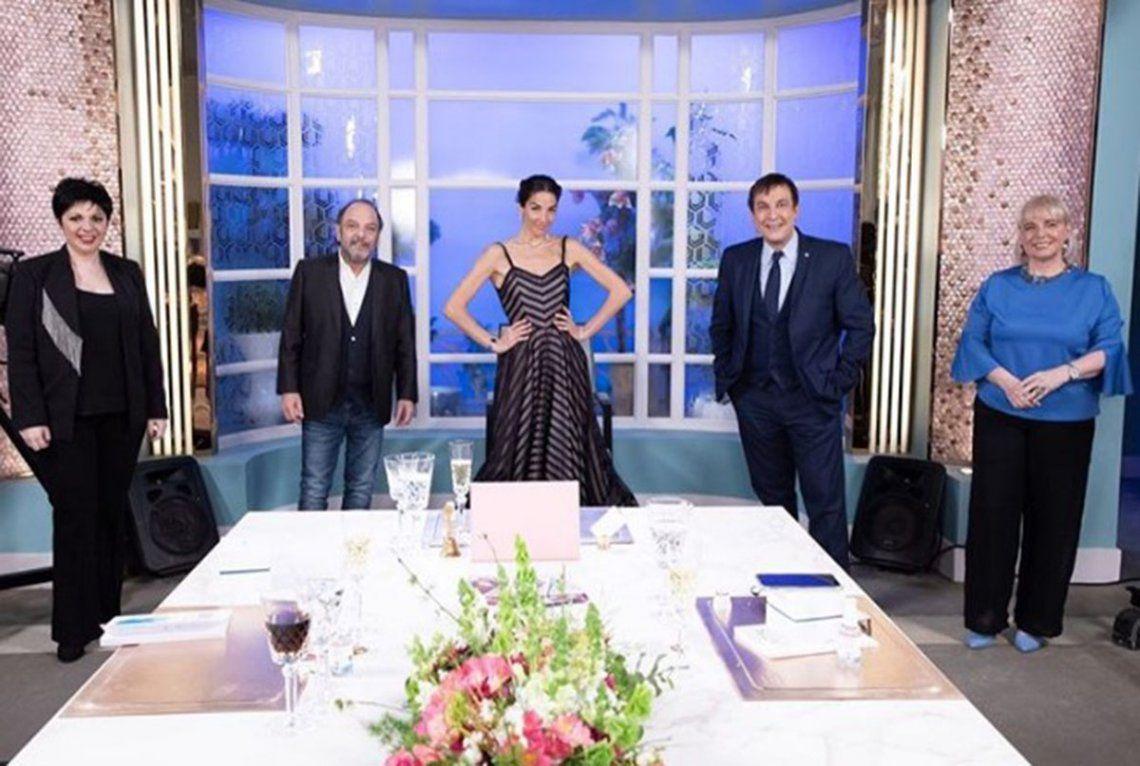 Juana Viale tuvo que intervenir tras una acalorada discusión entre dos invitados: ¡Paren!