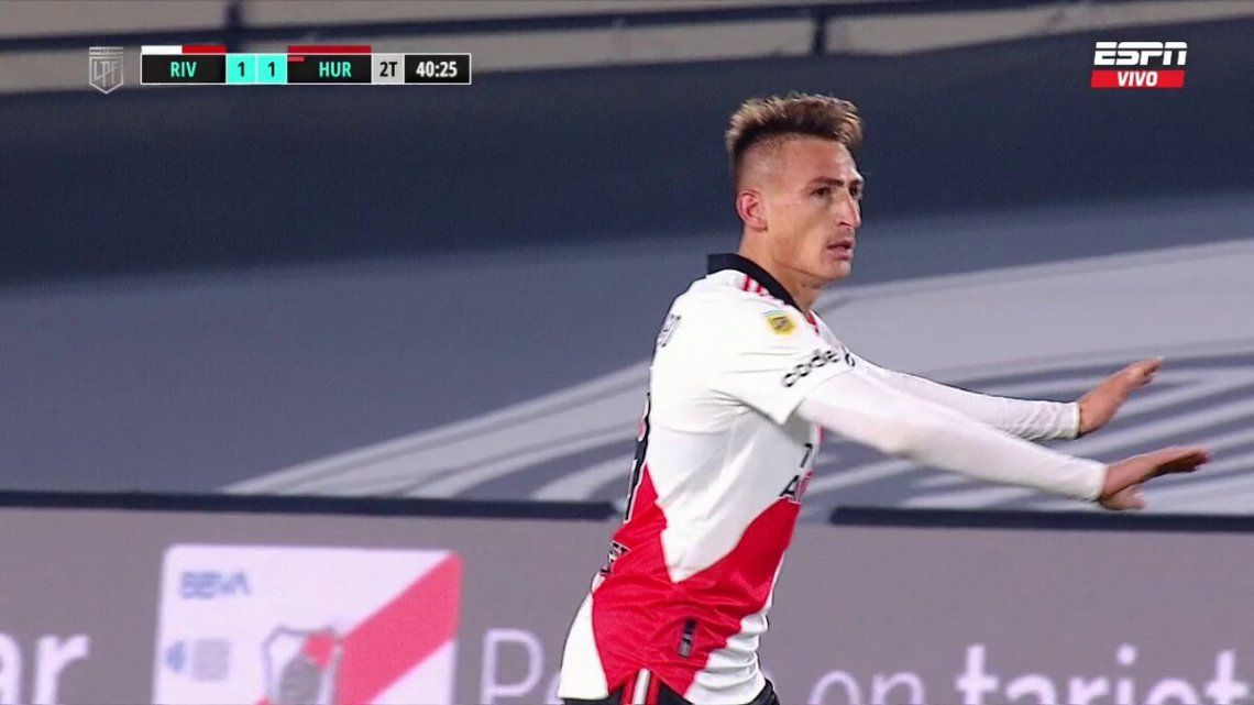 Otra gol de Braian Romero