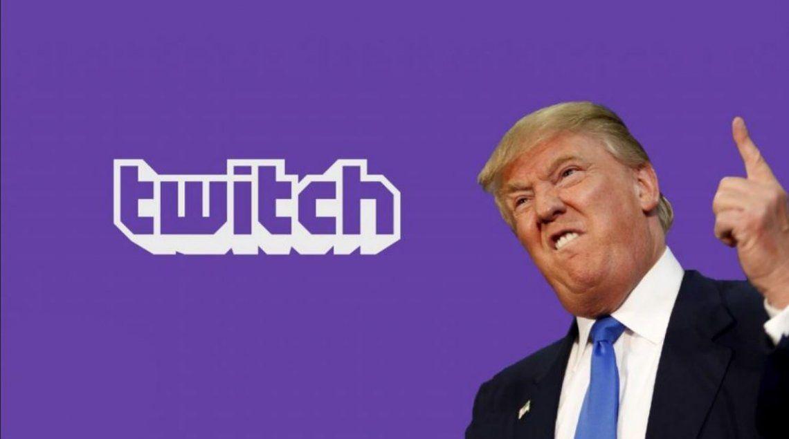 Trump también es bloqueado por Twitch