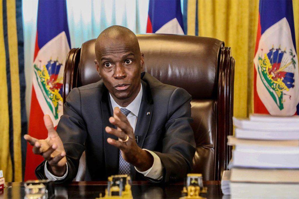 El presidente de Haití