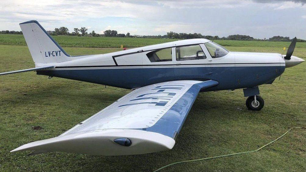 Uruguay: avión argentino cayó cerca de Punta del Este.