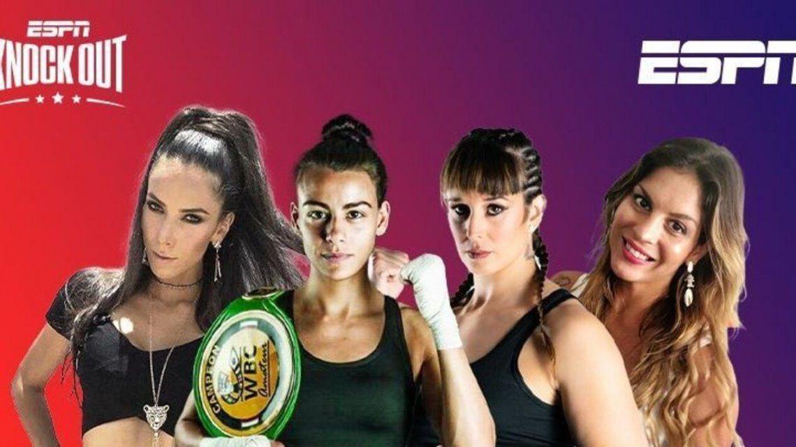 ESPN puso a 4 mujeres a transmitir veladas de boxeo por primera vez en la historia.