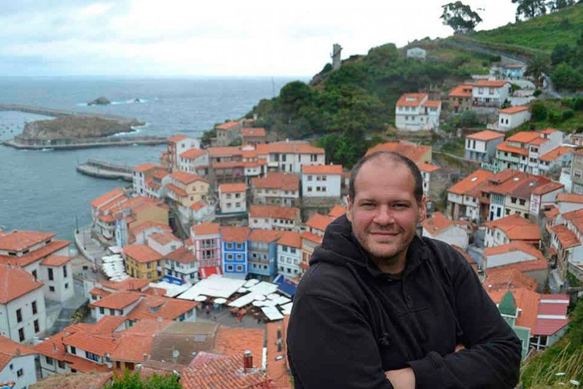 Alejandro Martínez Notte, un aventurero que viajó por 40 países