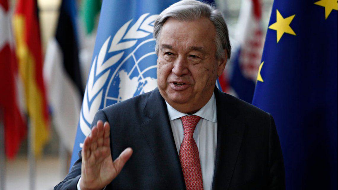 ONU advierte que millones de personas pueden morir de hambre.