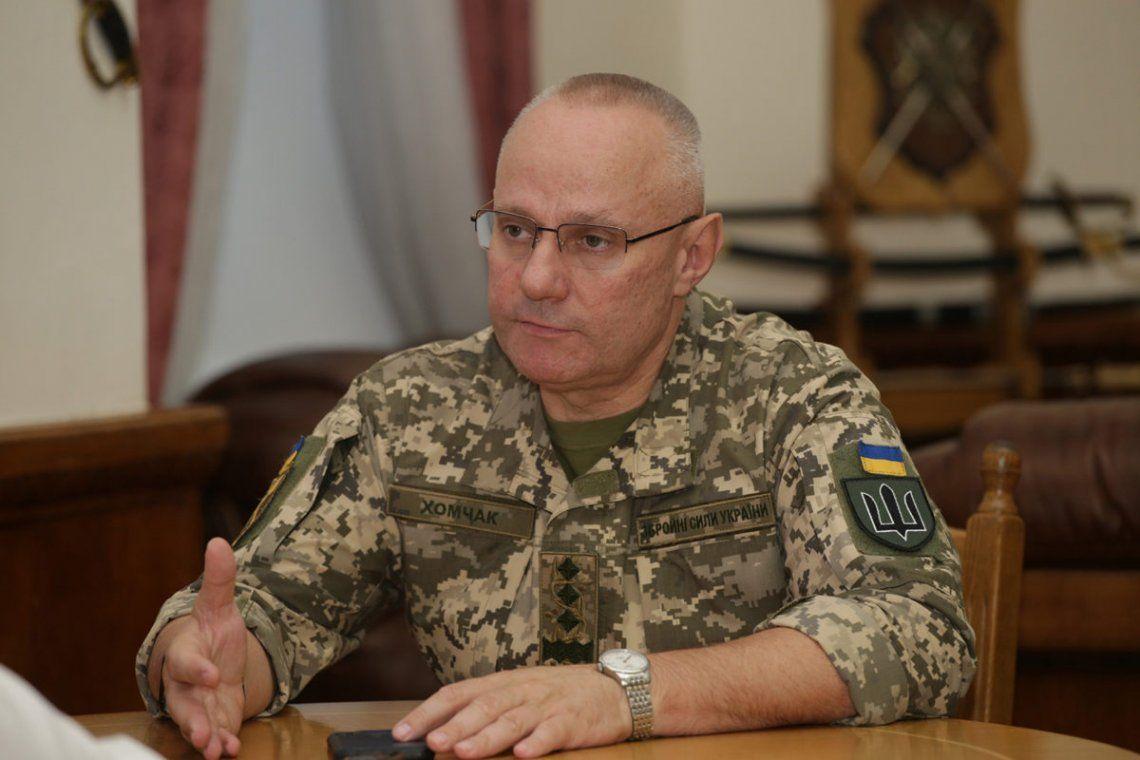 El comandante en jefe ucraniano
