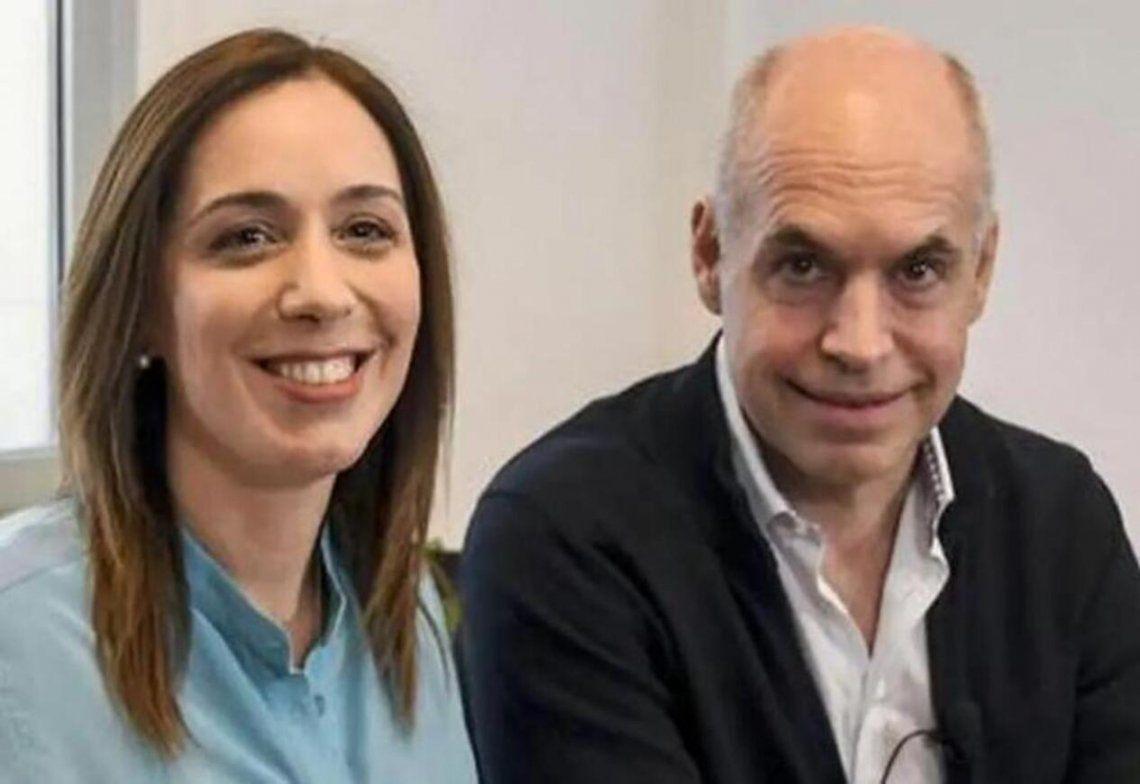 María Eugenia Vidal y Horacio Larreta no tienen la onda TikTok pero lo intentan