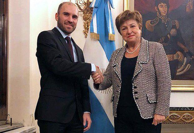 FMI: Guzmán y Georgieva.