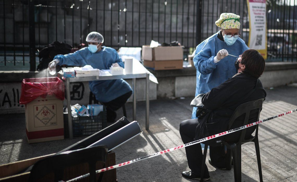 Coronavirus: siguen los testeos.
