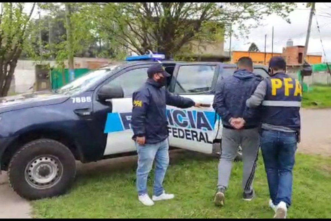 Detenido por la Policía Federal.