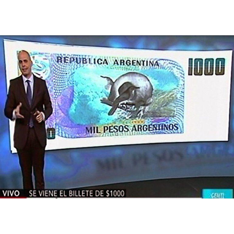 A partir del 1° de enero de 2017, habrá billete de 1000 pesos