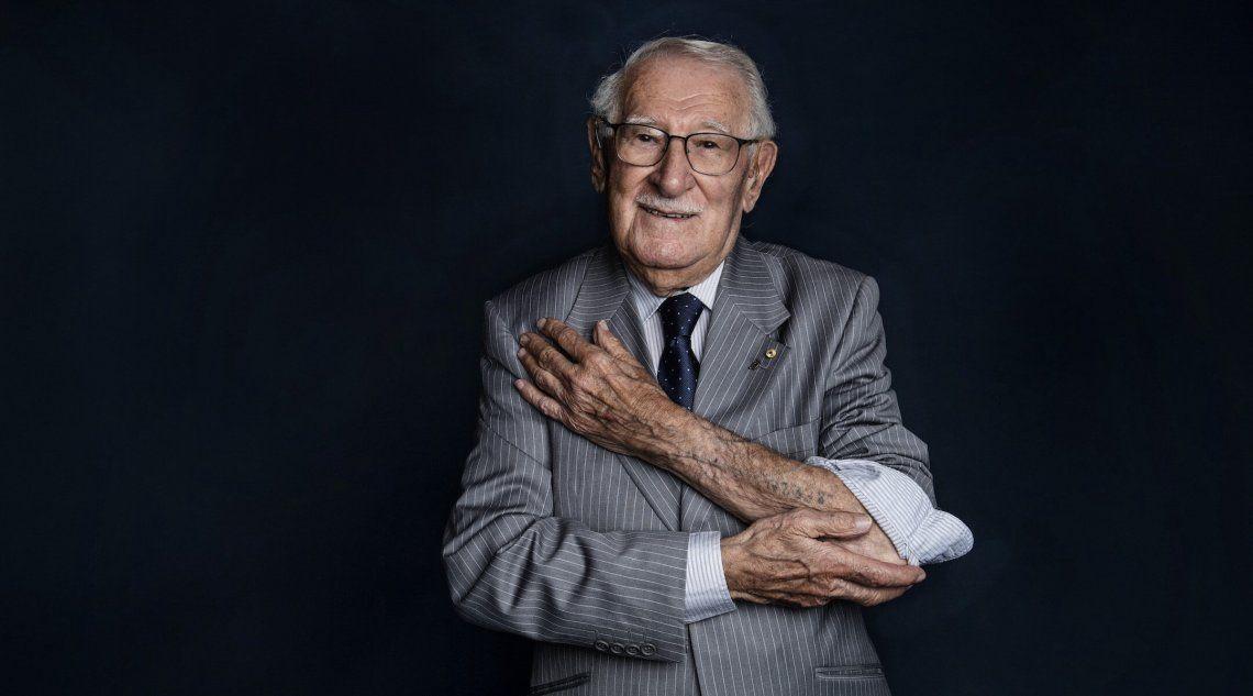 Murió con 101 años Eddie Jaku, sobreviviente del Holocausto