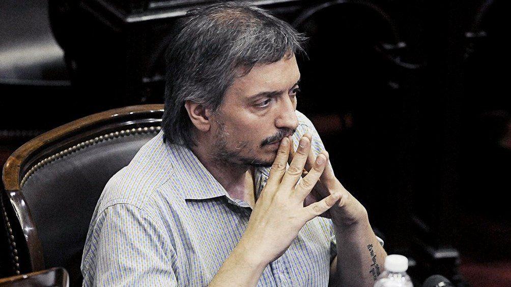 Máximo Kirchner es el actual presidente del bloque de diputados del Frente de Todos.