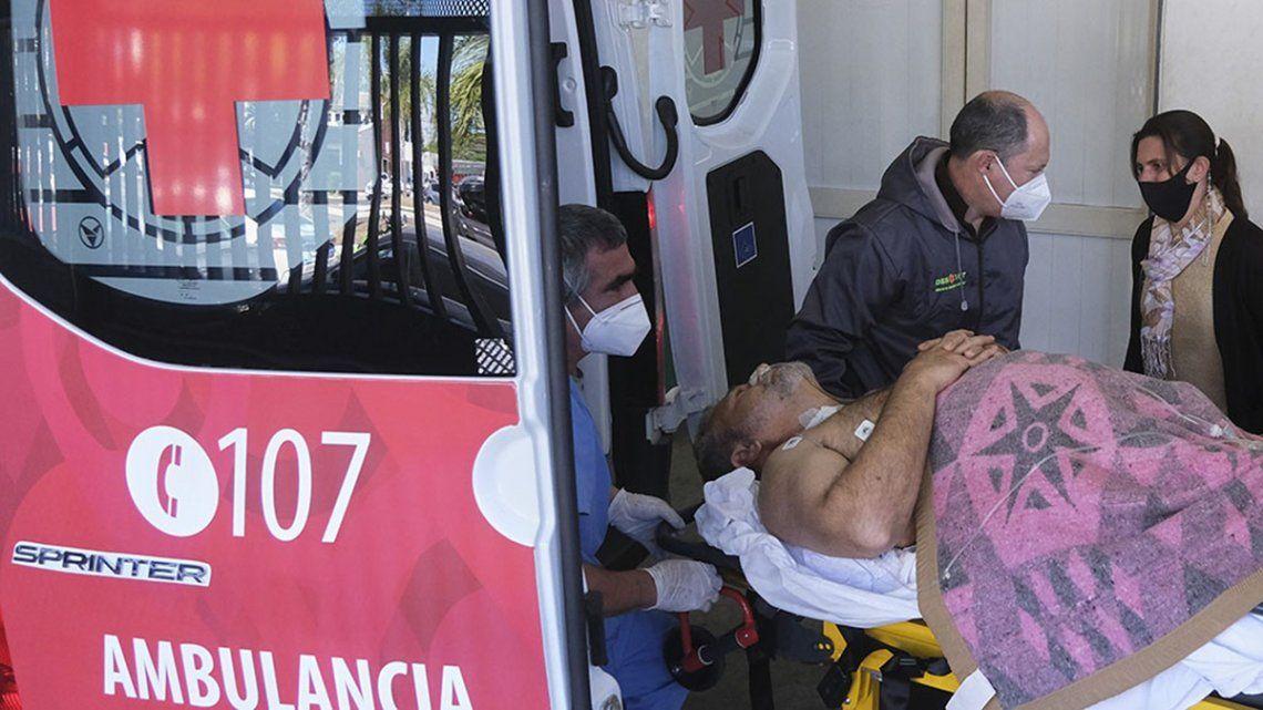 El diputado baleado en Corrientes permanece internado lúcido y estable.