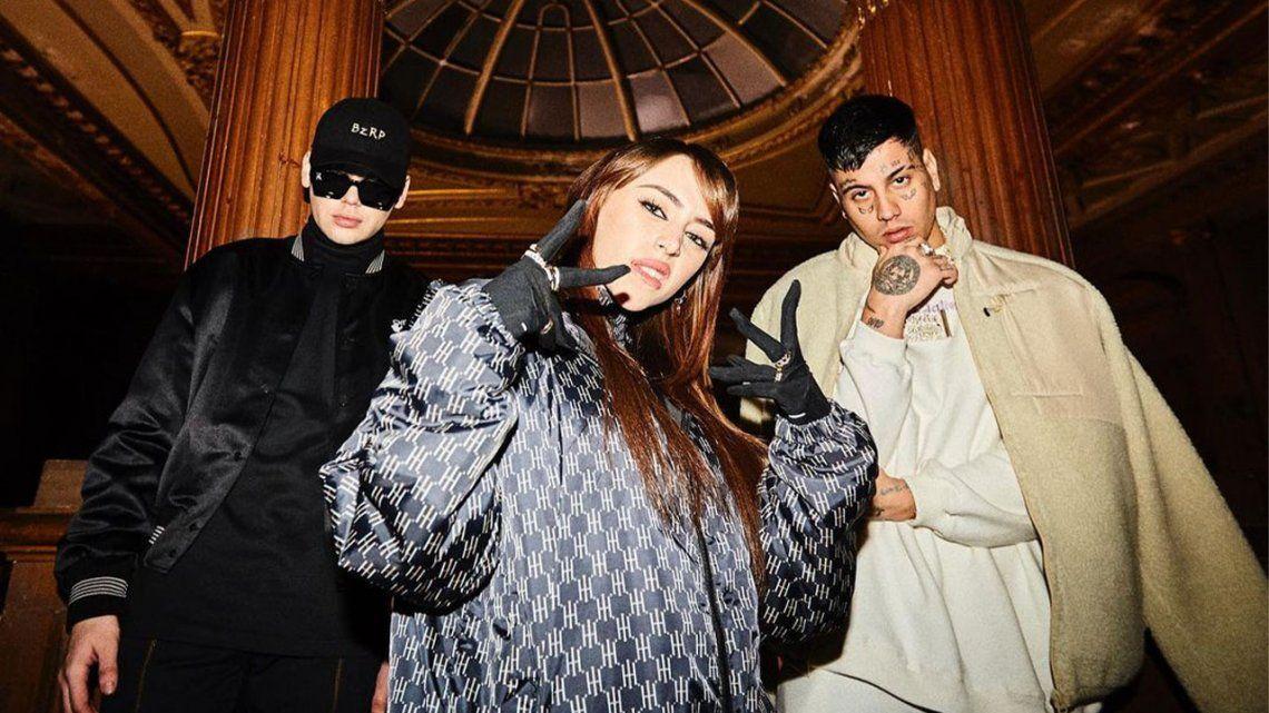 Bizarrap confirmó una canción junto a Nicki Nicole y Duki.
