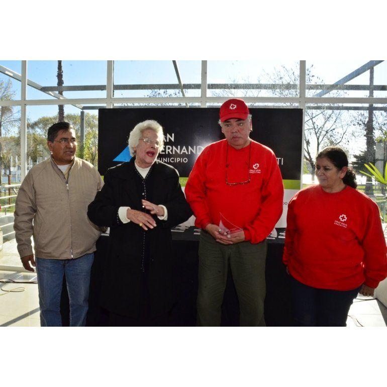 San Fernando reconoció a quienes colaboraron en el temporal del 2 de abril