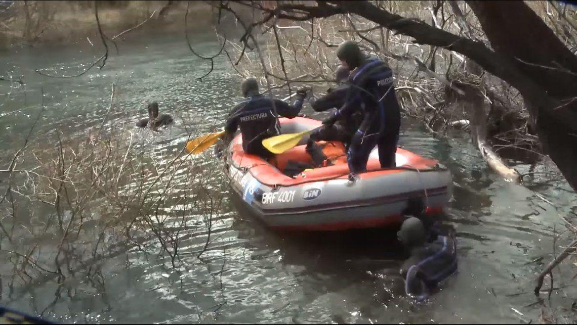 Caso Maldonado: en nuevo rastrillaje hallaron un cuerpo en el río Chubut