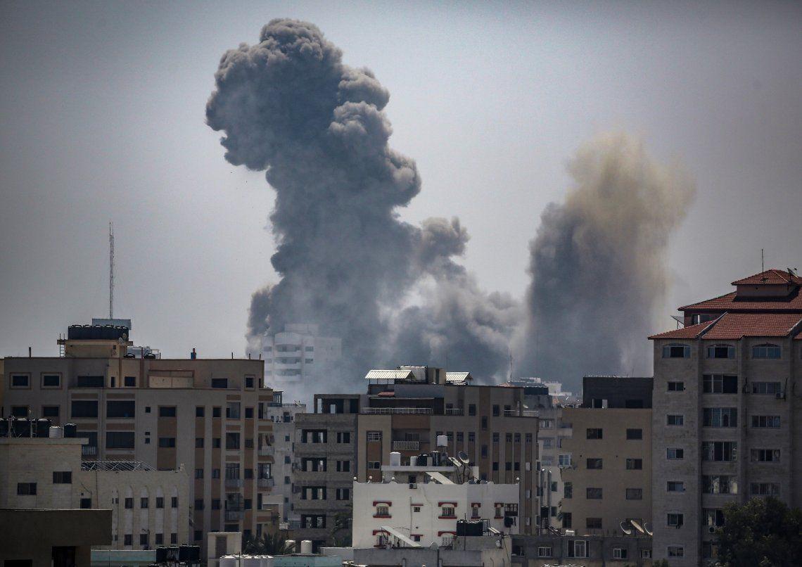 La violencia en Franja de Gaza vuelve a ganar el centro de la escena